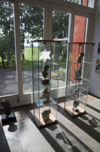 expositie vitrines